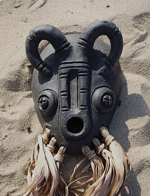 Mask 5 (Clay)