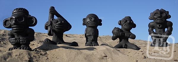 Taino Replica Sculptures